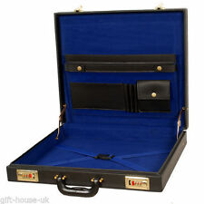 Masonic Regalia Master Mason MM/WM Hard Case 100% Leather - New