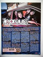 COUPURE DE PRESSE-CLIPPING :  LEPROUS  09/2011 Tor Oddmund Suhrke,Bilateral