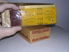CENTRAL VALLEY #F-92  C.N.J.Old Time 36' Truss-Rod Reefer #175  Kit H.O.Gauge