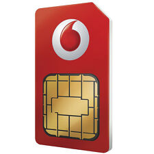 VODAFONE pay as you go SIM CARD UFFICIALE SIGILLATO 4g NANO MICRO SIM 3 in 1 dati