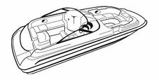 7oz BOAT COVER CHRIS CRAFT 230 SPORT DECK I/O 1997-1999