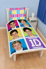 One Direction Neon Single bed cover 140x200 Bed Textiles Single Bed 1D new