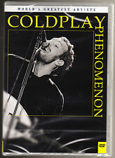 COLDPLAY - PHENOMENON - WORLD'S GREATEST ARTISTS - NEW & SEALED R2 PAL DVD