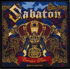Sabaton - Carolus Rex Patch 10cm x 9.5cm