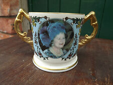1995 Queen Mother 95th Birthday Delux Loving Cup Aynsley China Limited Edition