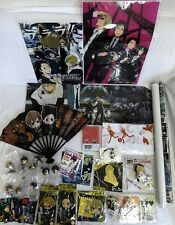Durarara!! figure /clear file fold /keycharm /strap /poster/bookcover etc set
