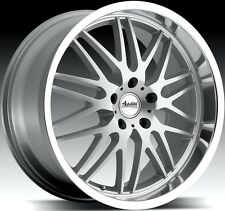 18x9.5 Advanti Kudos 5X114 +35 Silver Rims Aggressive Fits CivicVeloster Eclipse