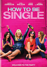 How To Be Single Dakota Johnson~COMEDY~ROMANCE~BRAND NEW (DVD)