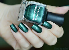 NEW! Deborah Lippmann LAUGHIN' TO THE BANK Polish Lacquer - full size Green