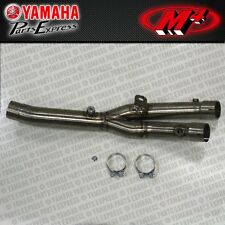 2015 15 YAMAHA YZF-R1 YZF R1 M4 EXHAUST TITANIUM CATALYTIC CONVERTER ELIMINATOR