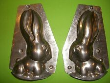 Antique Chocolate Mold Candy Mold Rabbit Metal Mold WALTER ROCKING RABBIT