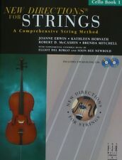 New Directions for Strings, Cello Book 1 with 2 CDs Published by the FJH Music