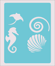 Sea Animal Stencil Decor Crafts Paint Color Wall Decoration  Kids Template #29