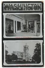 White House Vestibule, National Soldiers Home, Early Washington DC Postcard