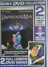 The Lawnmower Man(10th Anniversary Edition)/Train to Hell DVD BRAND NEW 2 movie