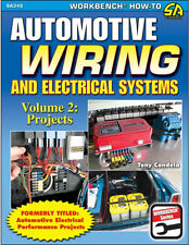 Automotive Wiring and Electrical Systems Volume 2: Projects Book ~ NEW 2015 !!
