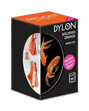 Dylon machine fabric dye – 200g – Goldfish Orange - FREE P&P