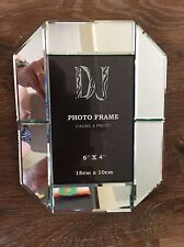 "Mirrored Photo Frame 6""x4"""