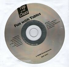 FUN WITH TABLES - EARLY LEARNING  - WINDOWS 95, 98, XP FREE P&P uk