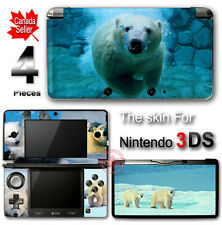 Polar Bear Cute SKIN VINYL STICKER DECAL COVER for Nintendo 3DS