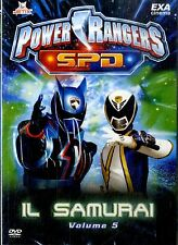 POWER RANGERS SPD Il Samurai Volume 5 DVD NEW Sigillato