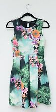 Miss Selfridge Floral Skater Dress Size 8 *BRAND NEW*