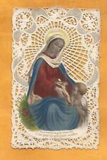 CANIVET DENTELLE LACE  HOLY CARD C EST POUR TOI BOUASSE LEBEL