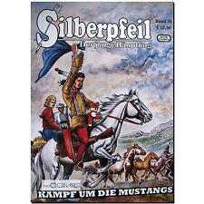 Silberpfeil Jugendabenteuer 38 Kampf um die Mustangs Frank Sels WESTERN COMIC