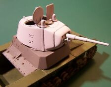 WW2 T-26 Tank Conical Turret Stamped Mask 1/35 HobbyBoss Zvezda Resin