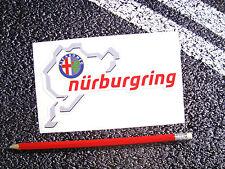 NURBURGRING Alfa Romeo Sticker Spider GTV 159 MITO Nordschleife F1 Lemans