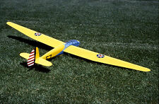 Giant 1/4 Scale Schweizer TG-2 Sailplane Plans, Templates and Instructions