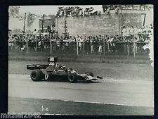 Photo 30 x 40 cm Formule 1 jean Pierre Jarier UOP Shadow F1 sport automobile