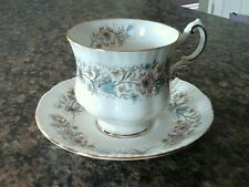 Paragon Bone China Meadowvale Tea Cup and Saucer England By Appointment England