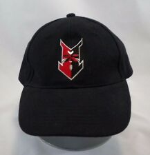 Firestone Tires Baseball Cap Embroidered Arrow Logo Black and Red Adjustable Hat