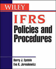 IFRS Policies and Procedures, Barry J. Epstein