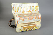 Concerto 17 Two Block Accordion with Case - Nice Shape and Fully Serviced