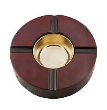 Quality Importers - Cherry Lacquer Finish Ashtray 4 Cigars - CA-4
