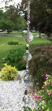 Twisted Leaf AB Suncatcher W/Swarovski Element Feng Shui Crystal Ball USA