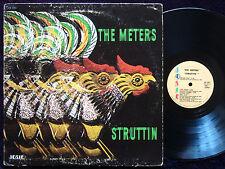 THE METERS Struttin' LP JOSIE RECORDS JOS 4012 Orig US 1970 SOUL FUNK Clean
