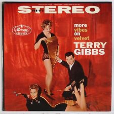 TERRY GIBBS: More Vibes on Velvet USA MERCURY Jazz DG Stereo Vinyl LP VG++