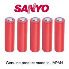 N.5  SANYO NCR18650GA  3.7V  3500 mAh  made in Japan batteria battery  LIPO