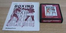 REALSPORTS BOXING - Atari 2600 - Usato