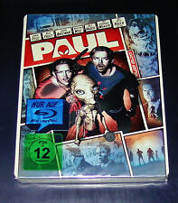 Paul un alieno in fuga Real Heroes STEELBOOK EDITION BLU RAY NUOVO & OVP