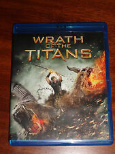 Wrath of the Titans (Blu-ray Dics, 2012) Like New