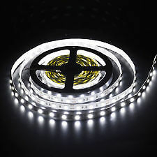 5M METER LED SMD STRIP WHITE 3528 300LED 12V CEILLING ROOM OFFICE SIGN DECORATI