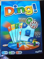 FAMILY CARD BOARD GAME DING! COMPLETE MINT CONDITION FREE UK POST