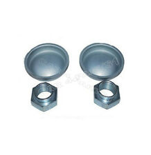 Peugeot Rear Hub Nuts and Caps 693541 374019