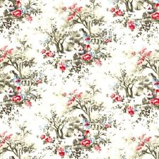 Early Elegence Toile 100% Cotton Quilting & Sewing Fabric #46