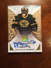 2015-16 The Cup Autographed Rookie Malcolm Subban #25/36