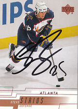 STEVE STAIOS THRASHERS AUTOGRAPH AUTO 00-01 UPPER DECK #241 *28333